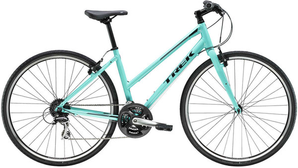 Trek FX 2 Women's Stagger Color: Miami Green