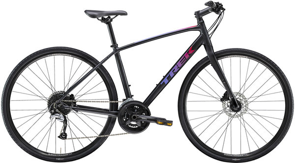 Trek FX 3 Disc Women's Color: Voodoo Trek Black