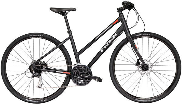 Trek FX 3 Women's Disc Stagger Color: Matte Trek Black