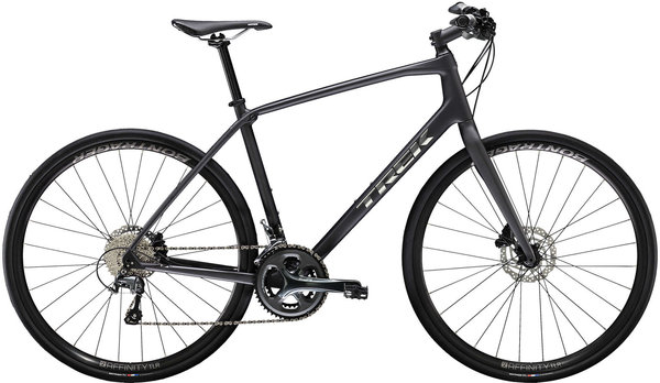 Trek FX Sport 5 Color: Matte Dnister Black
