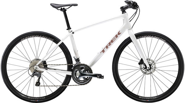Trek FX Sport 5 Color: Semi-gloss Crystal White