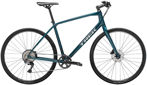 Trek FX Sport Carbon 4 Color: Dark Aquatic/Carbon Smoke