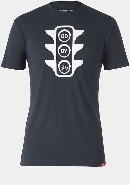 Trek Go By Bike Stoplight T-Shirt Color: Navy