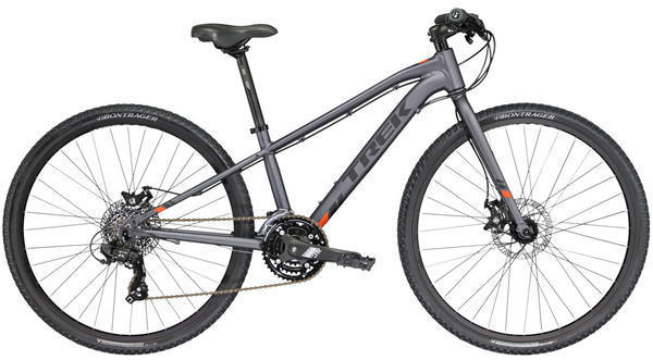 Trek Kids' Dual Sport Color: Matte Metallic Charcoal