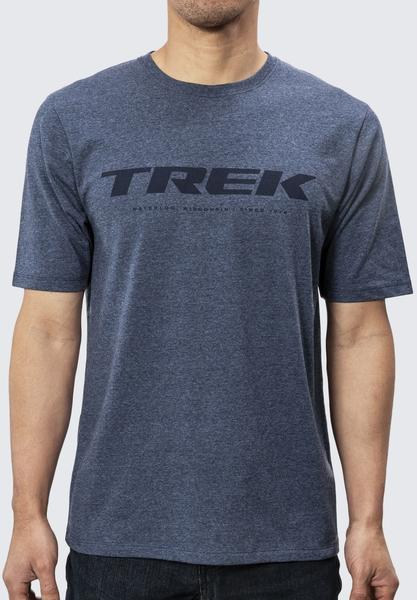 Trek Trek Logo Tee Color: Blue