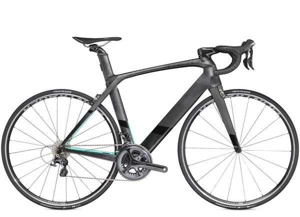 Trek Madone 9.2 Color: Matte Dnister Black/Miami Green