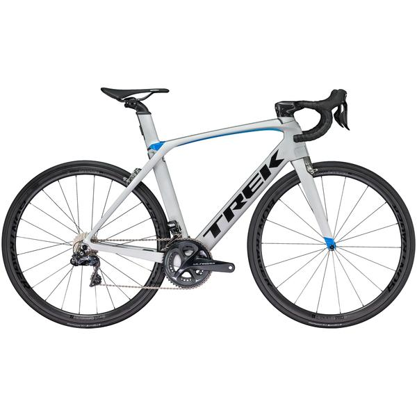 Trek Madone 9.5 Color: Matte Quicksilver/Gloss Blue