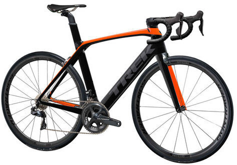 Trek Madone 9.5 Color: Radioactive Orange/Trek Black