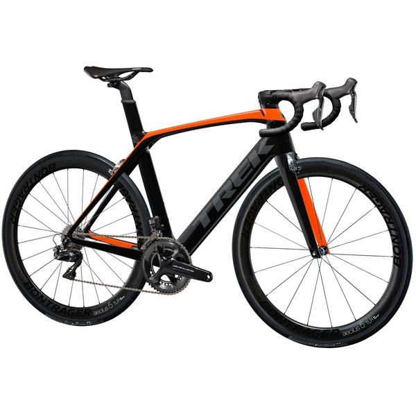 Trek Madone 9.9 Color: Radioactive Orange/Trek Black