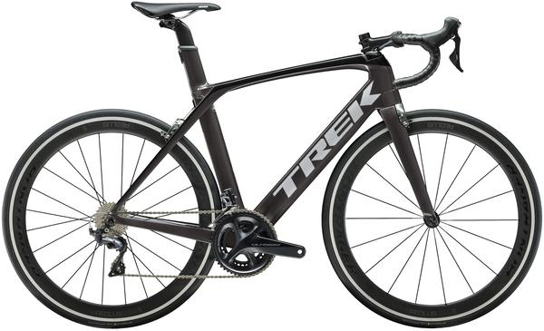 Trek Madone SL 6 Color: Black/Quicksilver