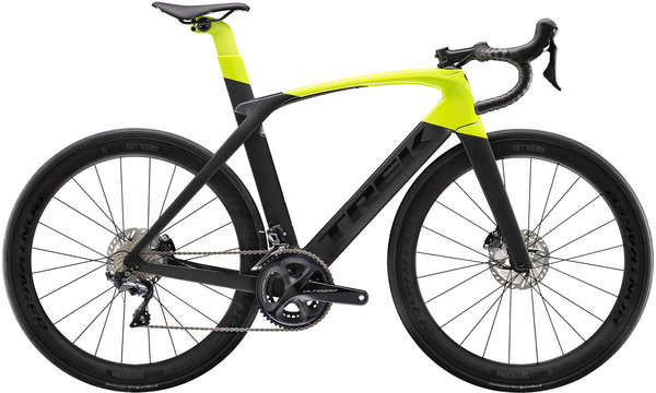 Trek Madone SL 6 Disc Color: Matte Dnister Black/Gloss Volt