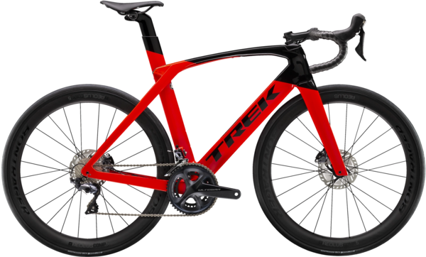 Trek Madone SL 6 Disc Color: Radioactive Red/Trek Black