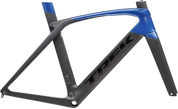 Trek Madone SL Disc Frameset Color: Matte Black/Gloss Alpine Blue