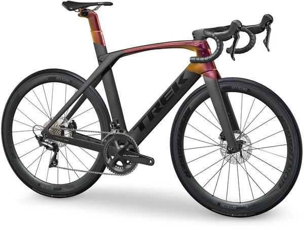 Trek Madone SLR 6 Disc Color: Matte Dnister Black/Gloss Sunburst