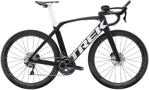 Trek Madone SLR 6 Disc Speed Color: Matte Trek Black/Trek White