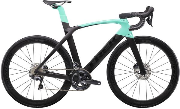 Trek Madone SLR 6 Disc Women's Color: Matte Black/Gloss Miami Green