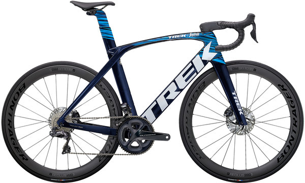 Trek Madone SLR 7 Color: Navy Carbon Smoke/Blue