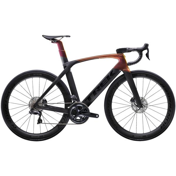 Trek Madone SLR 7 Disc Color: Matte Dnister Black/Gloss Sunburst
