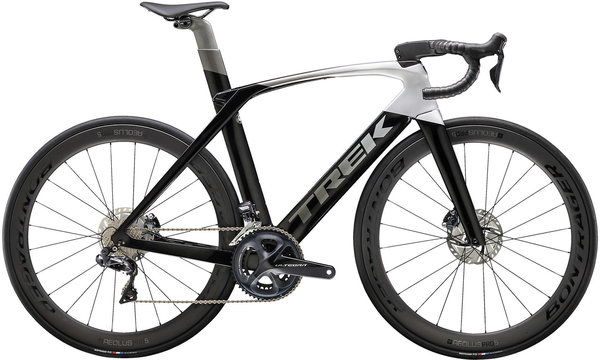Trek Madone SLR 7 Disc Color: Black/Silver-Grey Fade