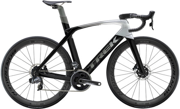 Trek Madone SLR 7 Disc eTap Color: Black/Silver-Grey Fade