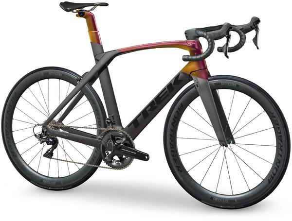 Trek Madone SLR 8 Color: Matte Dnister Black/Gloss Sunburst