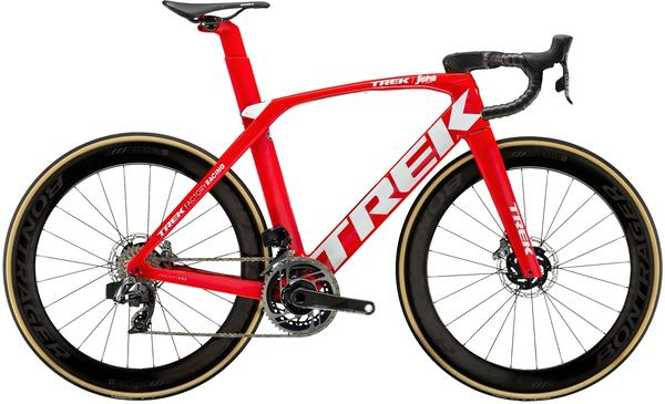 Trek Madone SLR 9 Disc eTap Color: Viper Red/Trek White