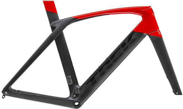 Trek Madone SLR Disc Frameset Color: Matte Black/Gloss Viper Red