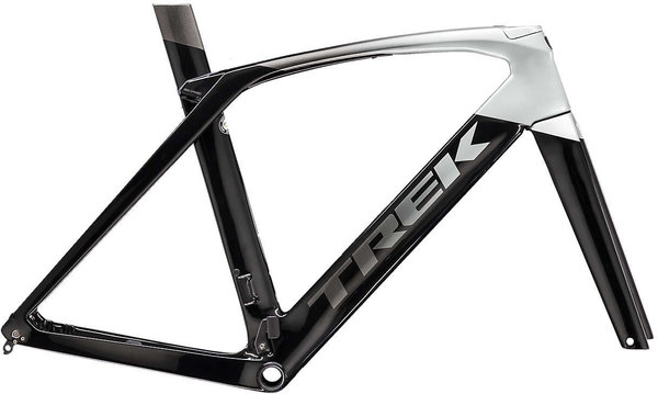 Trek Madone SLR Disc Frameset Color: Black/Silver-Grey Fade