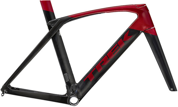 Trek Madone SLR Frameset Color: Carbon Smoke/Crimson