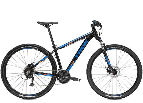 Trek Marlin 7 Color: Trek Black/Waterloo Blue
