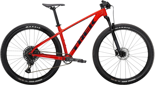 Trek Marlin 8 Color: Gloss Radioactive Red/Nautical