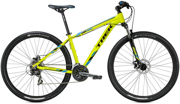 Trek Marlin 5 Color: Radioactive Yellow/Trek Black/Trek Cyan