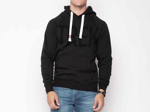 Trek Monochrome Hoodie Color: Black