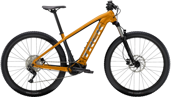 Trek Powerfly 4 Color: Factory Orange/Lithium Grey