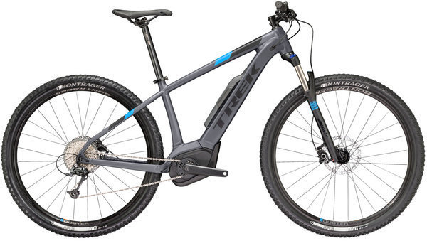 Trek Powerfly 5 Color: Matte Solid Charcoal/Matte Trek Black