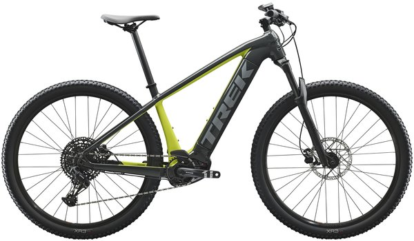 Trek Powerfly 5 Color: Solid Charcoal/Volt