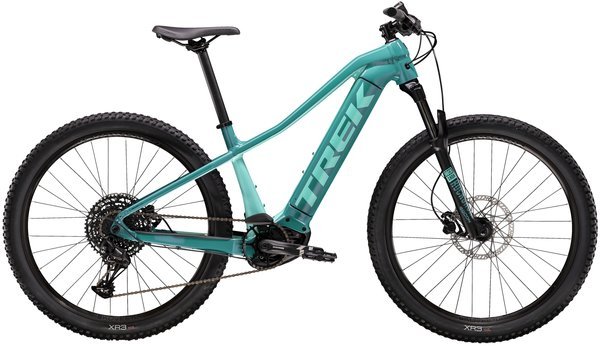 Trek Powerfly 5 Women's Color: Teal/Miami Green