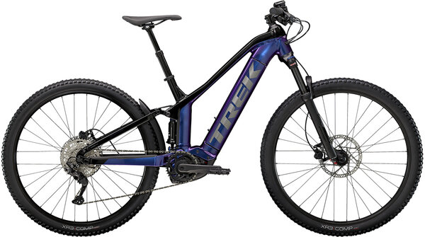 Trek Powerfly FS 4 Color: Purple Flip/Trek Black