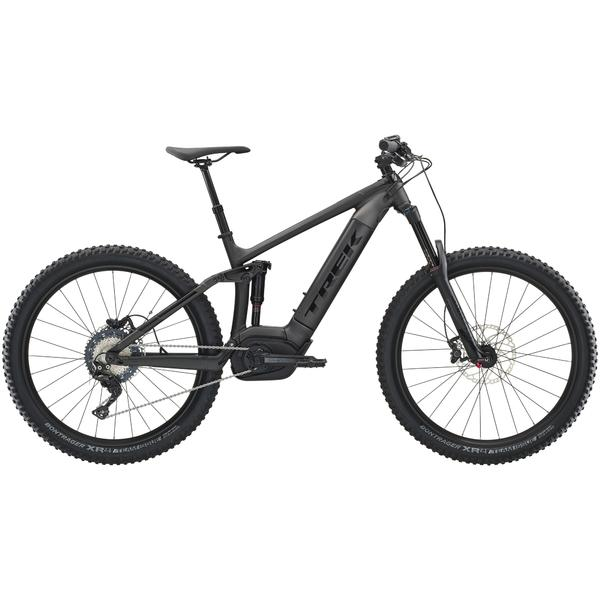 Trek Powerfly FS 7 Plus Color: Matte Dnister Black