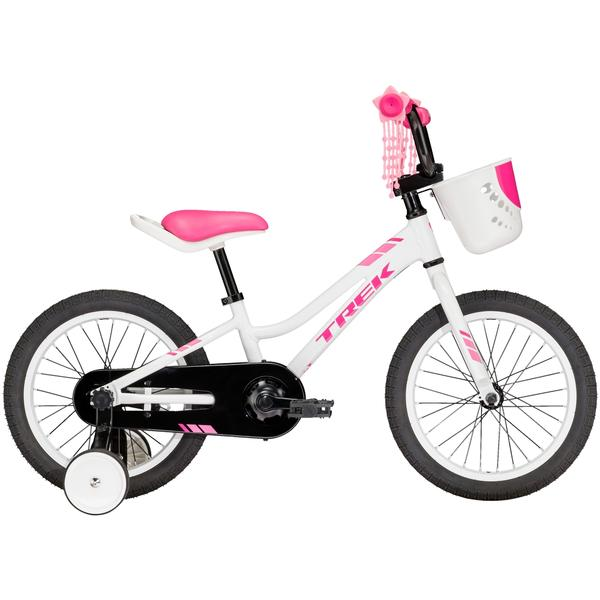 Trek Precaliber 16 Girl's Color: Crystal White