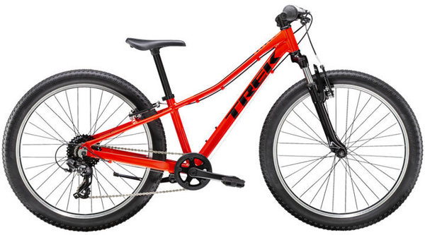 Trek Precaliber 24 8-Speed Suspension Boy's Color: Radioactive Red