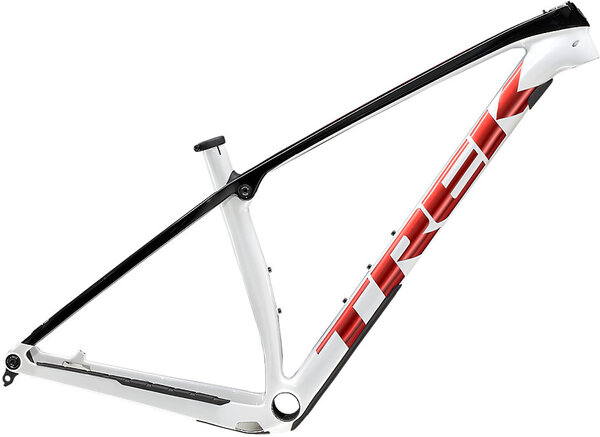 Trek Procaliber Frameset Color: Crystal White/Trek Black