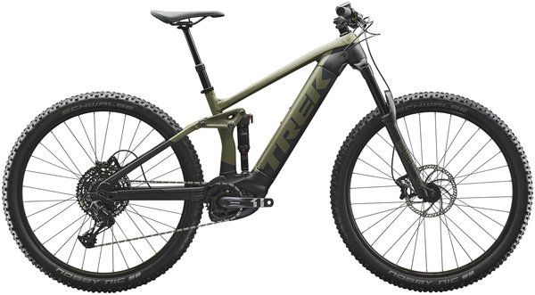 Trek Rail 5 Color: Matte Olive Grey/Trek Black
