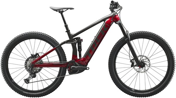 Trek Rail 7 Color: Dnister Black/Rage Red