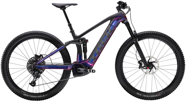 Trek Rail 9.7 Color: Gloss Purple Phaze/Matte Raw Carbon