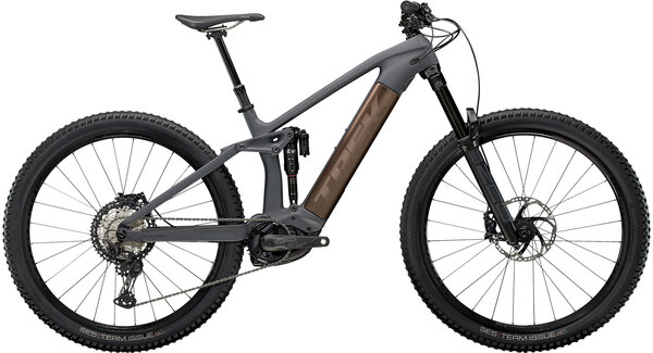 Trek Rail 9.8 XT Color: Solid Charcoal to Root Beer Ano Decal