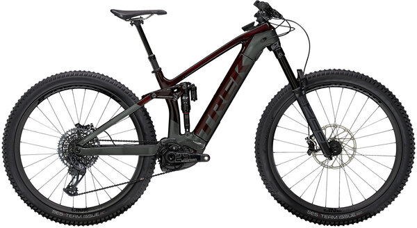 Trek Rail 9.9 Color: Carbon Red Smoke/Lithium Grey
