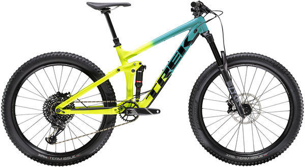 Trek Remedy 8 27.5 GX Color: Teal to Volt Fade
