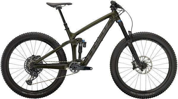Trek Remedy 9.8 Color: Gloss Black Olive/Matte Dnister Black