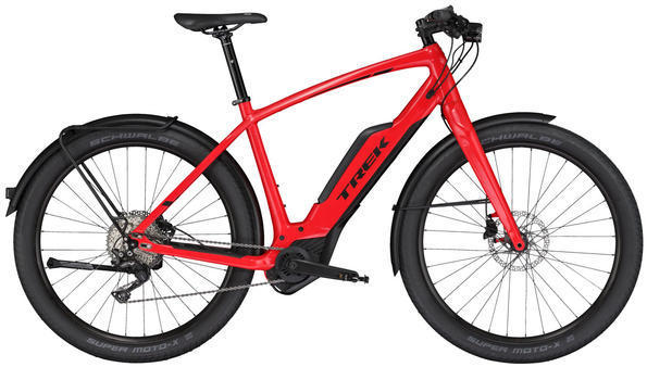 Trek Super Commuter+ 8S Color: Viper Red